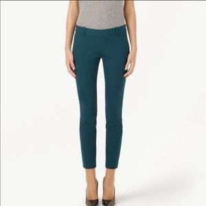 Babaton Elliot emerald green trousers NEW